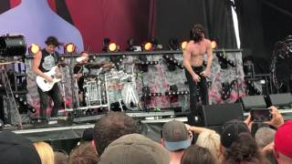 Nothing More - Let 'Em Burn (New Song) Live at Welcome to Rockville 2017