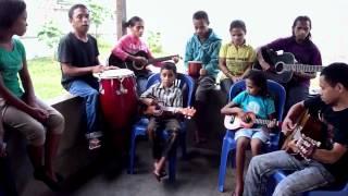 Blind musicians at Fuan Nabilan