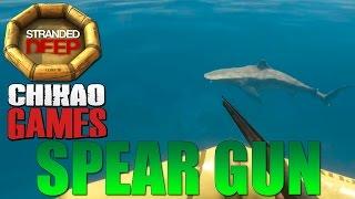 Stranded Deep:MATANDO TUBARÃO EM 10 SEGUNDOS COM A SPEAR GUN
