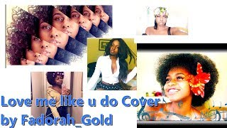 Haitian girl Artist Fadorah_Gold cover Ellie Goudling song Love me like you do