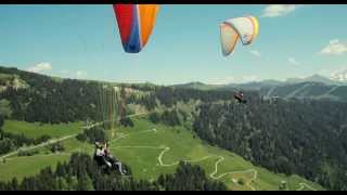 Intouchable paragliding scene from Intouchables 2011