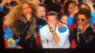 Coldplay Beyoncé Bruno Mars Super Bowl 50 Halftime Finale (Fix You - Mash Up)