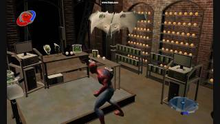 Spider Man 3 the Game - New Goblins Hideout!