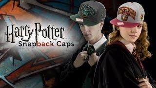 Harry Potter: Snapbacks für Gryffindor und Slytherin
