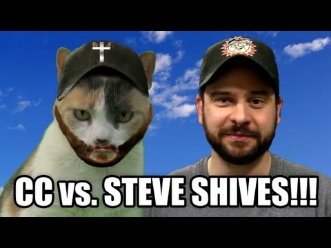 Creationist Cat vs. Steve Shives!