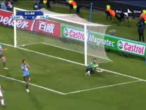 Italia – Egitto 0-1 del 18.06.2009 Confederations Cup