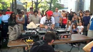 Hip Hop's Turntable Master DJ-P Live MO