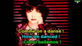 Learn French with Mireille Mathieu, Moulin Rouge; español, Inglés, francés; aprender