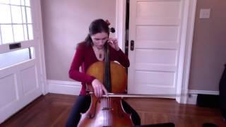 Sarabande Bach Cello Suite #1