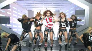 Lee Hyori - Chilly Chilly Bang Bang, 이효리 - 치티 치티 뱅 뱅, Music Core 20100501