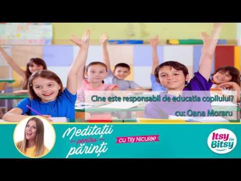 Cine este responsabil de educatia copilului?