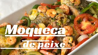 Moqueca de Peixe / Receita da Bahia