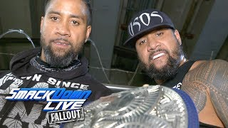 The Usos are confident after Jimmy's victory: SmackDown LIVE Fallout, July 18, 2017