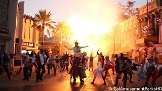Halloween Horror Nights 2016 Opening Ceremony (FRONT ROW) The Purge Scarezone HD
