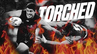 Torched: The best baulks, bursts and fends | Round 17, 2018 | AFL