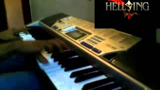 Hellsing Theme piano cover - Alucard, a world without logos