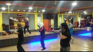 Body combat 67 coach track 1A Lana assaad