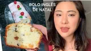 BOLO INGLÊS DE NATAL