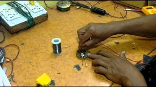make a led light at low cost (230v AC)