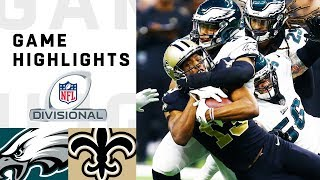 Eagles vs. Saints Divisional Round Highlights   NFL 2018 Playoffs