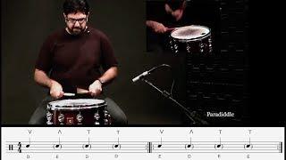 Kiko Freitas - Tipos de toque (Paradiddle)