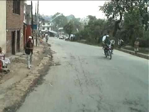 Nepal 2006  Kathmandu Traffic Chaos