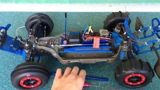 How to replace center drive shaft on Traxxas Slash 4x4
