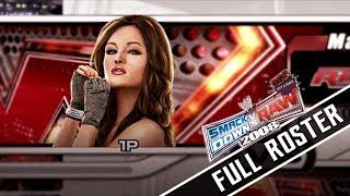 WWE SVR 2008 | Full Roster! PS3/Xbox360 (All Unlocked Superstars,Divas,NPC,DLC!)