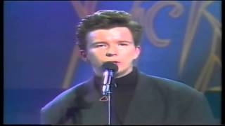Rick Astley Whenever You Need Somebody Live
