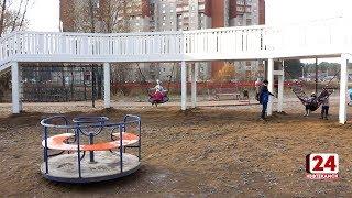 На озере Светлом торжественно открыли детскую площадку
