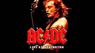 AC/DC - Moneytalks Live backing track (rhythm guitar)