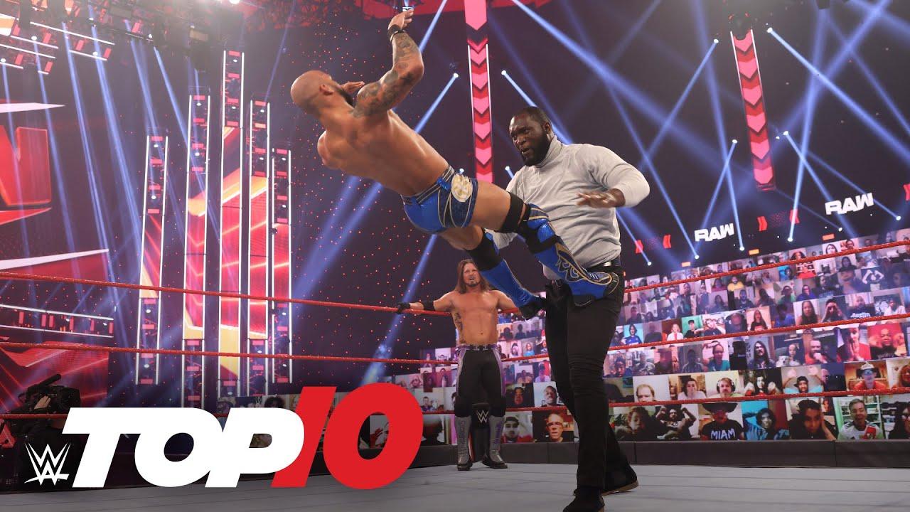 WWE - Top 10 Raw moments: WWE Top 10, Feb. 22, 2021
