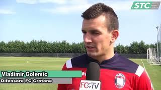 VLADIMIR GOLEMIC DIFENSORE FC CROTONE