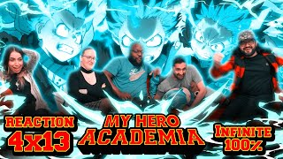 My Hero Academia - 4x13 Infinite 100% - Group Reaction