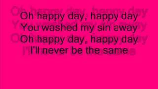 Happy Day ( lyrics ) - Jesus Culture