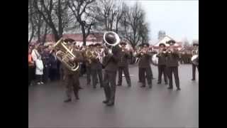 Военный оркестр круто играет ( Слоним, Беларусь) / a military band playing cool ( Slonim , Belarus )
