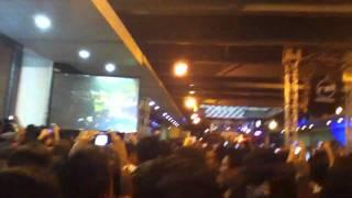 Belinda feat. Pitbull - Egoista en vivo, concierto radio tiempo Medellín 2011