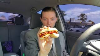 Sonic Cheesy Bacon Lil' Doggie - Food Review
