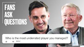 Gary Neville Puts Fan Questions To Sir Alex   FAQs   SPORTbible   @LADbible TV