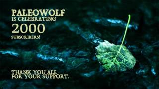 Celebrating 2000 Subscribers to Paleowolf!