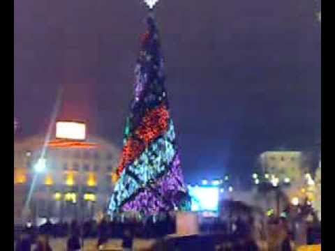 Новогодняя ёлка.Киев. Майдан Незалежности.