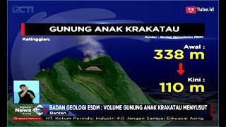 Badan Geologi ESDM: Gunung Anak Krakatau Meyusut - SIS 29/12