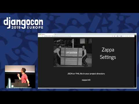 Serverless Django with Zappa