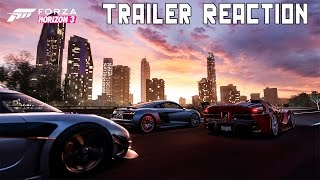 Forza Horizon 3 Official Trailer Reaction (New Bodykits, Better Graphics, Drifting)