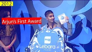 Arjun - Got His First Award At The Age Of 22 😱 - Amit Ral - Hd Video