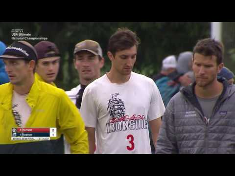 Video Thumbnail: 2016 National Championships, Men's Semifinal: Boston Ironside vs. Denver Johnny Bravo