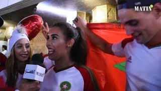 Scènes de liesse à Casablanca après la victoire du Maroc face au Gabon 3-0