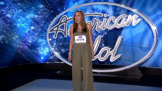 AMERICAN IDOL AUDITION - The Cranberries' Zombie Cover by McKenna Dennis