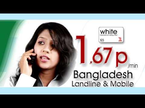 white calling card