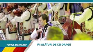 """TURNEUL  """"Dorul Basarabiei"""" din 5 ianuarie in 5 capitale europene!"""